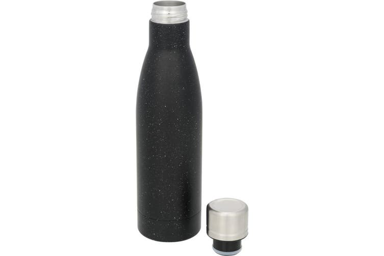 Avenue Vasa Speckled Copper Vacuum Insulated Bottle (Black) (One Size)