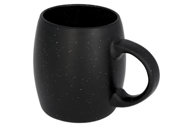 Avenue Stone Ceramic Mug (Black) (One Size)