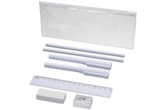 Bullet Mindy 8 Piece Pencil Case Set (White) (One Size)