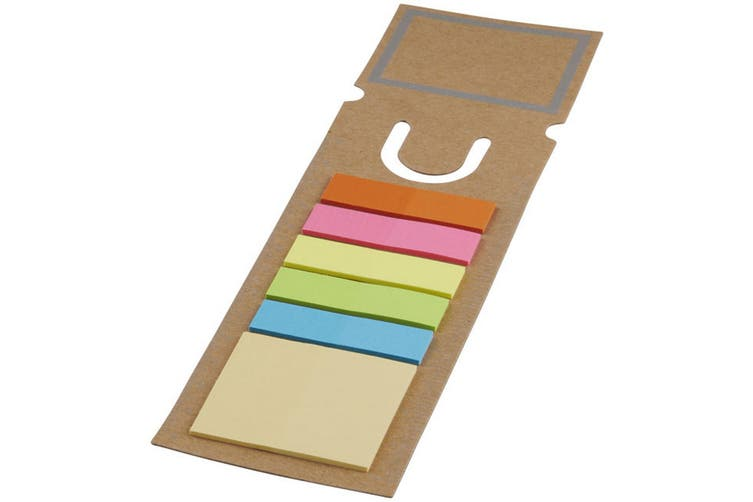 Sticky Note Bookmark (Brown) (One Size)