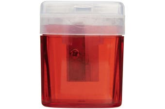 Bullet Pencil Sharpener (Red) (One Size)