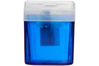Bullet Pencil Sharpener (Blue) (One Size)