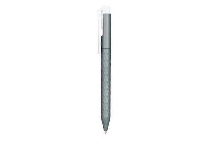 Bullet Diamonde Ballpoint Pen (Silver) (One Size)