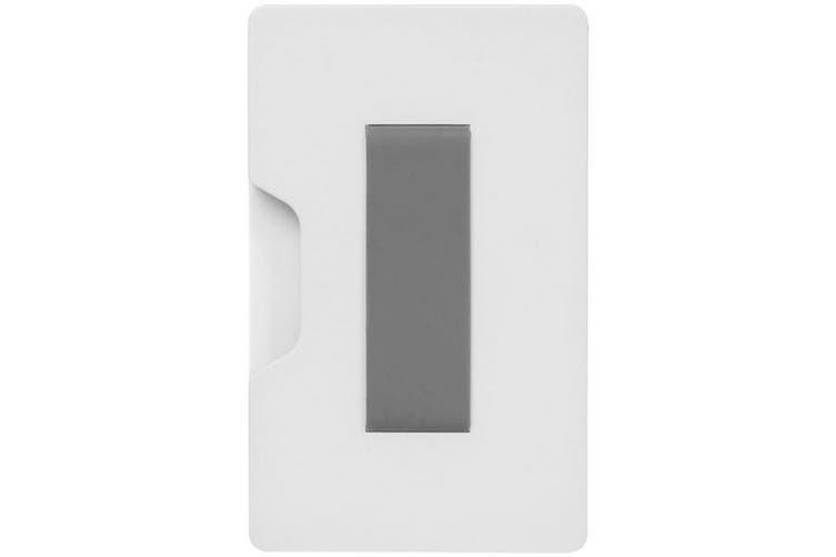 Bullet Shield RFID Cardholder (White) (One Size)