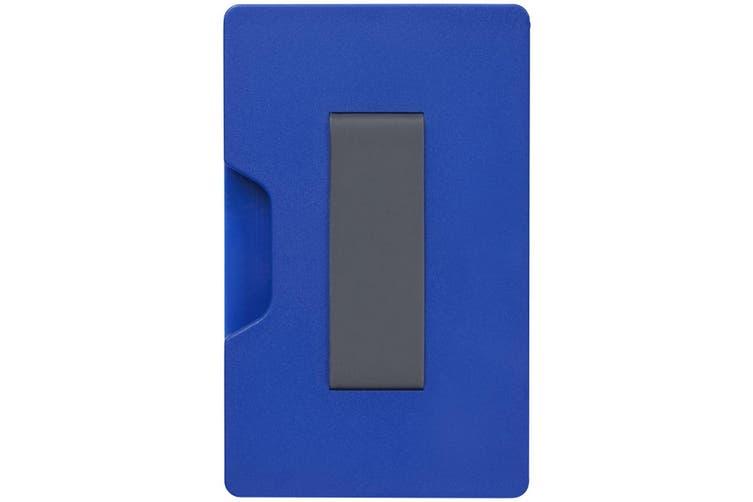 Bullet Shield RFID Cardholder (Blue) (One Size)