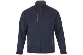 Slazenger Chuck Mens Softshell Jacket (Navy) (L)