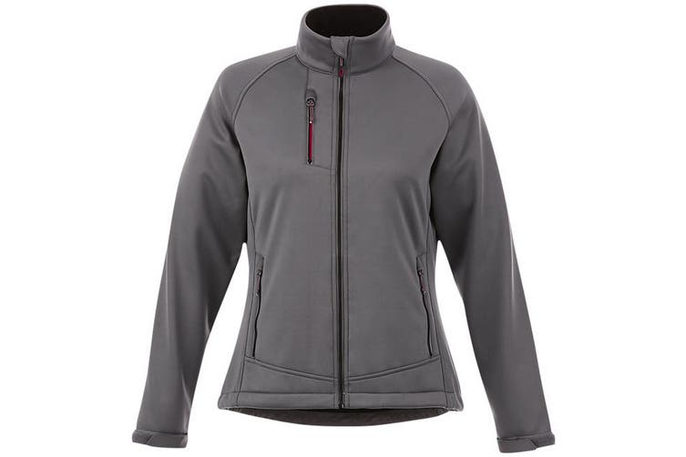 Slazenger Chuck Womens/Ladies Softshell Jacket (Grey) (S)