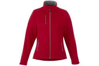 Slazenger Chuck Womens/Ladies Softshell Jacket (Red) (XS)