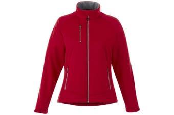 Slazenger Chuck Womens/Ladies Softshell Jacket (Red) (S)