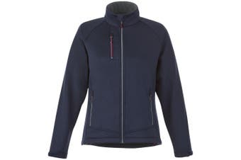 Slazenger Chuck Womens/Ladies Softshell Jacket (Navy) (XS)