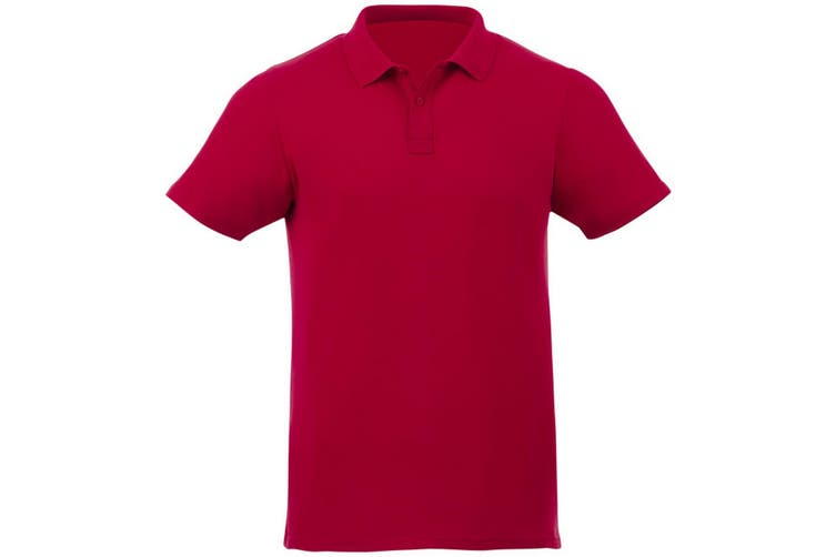 Elevate Liberty Mens Short Sleeve Polo Shirt (Red) (S)