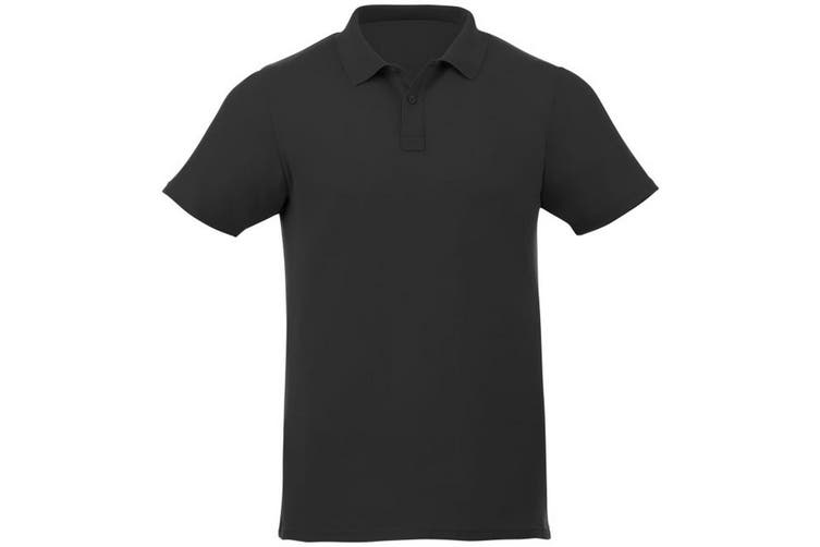 Elevate Liberty Mens Short Sleeve Polo Shirt (Black) (XXXL)