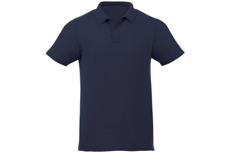 Elevate Liberty Mens Short Sleeve Polo Shirt (Navy) (XXXL)
