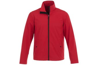 Elevate Karmine Mens Softshell Jacket (Red) (XS)