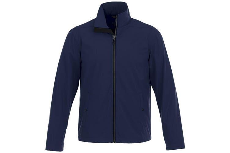 Elevate Karmine Mens Softshell Jacket (Navy) (XXL)
