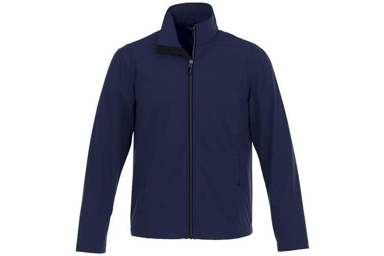 Elevate Karmine Mens Softshell Jacket (Navy) (XL)
