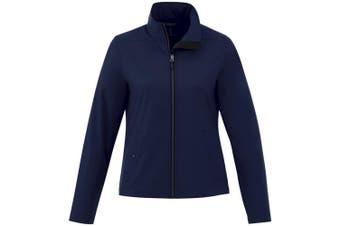Elevate Karmine Womens/Ladies Softshell Jacket (Navy) (L)