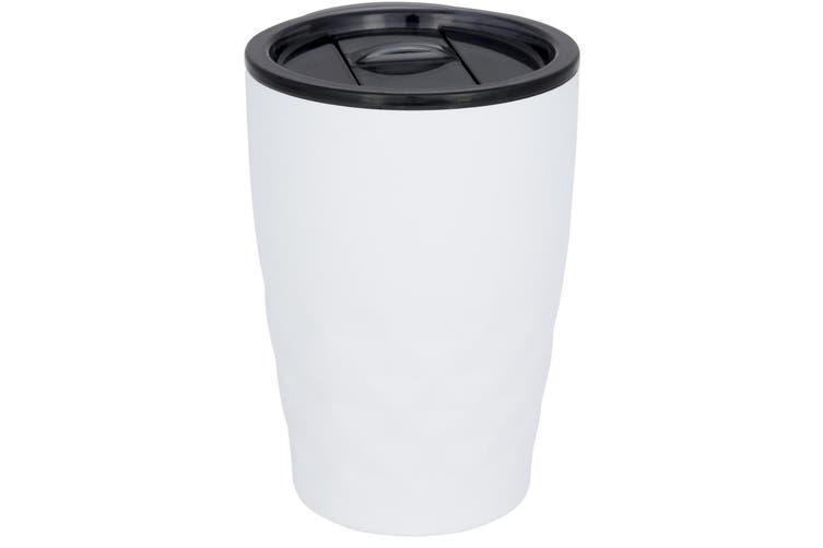 Avenue Geo Insulated Tumbler (White) (12 x 8.5 cm)