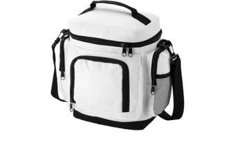 Bullet Helsinki Cooler Bag (Pack of 2) (White) (19.5 x 14.5 x 27cm)