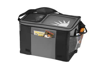 California Innovations 50-Can Table Top Cooler (Pack of 2) (Solid Black/Grey) (41.9 x 29.2 x 27.9cm)