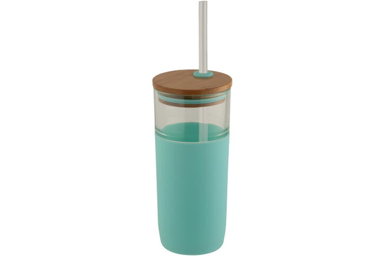 Avenue Arlo Glass Tumbler (Pack of 2) (Mint) (19 x 8.3 cm)