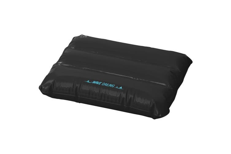 Bullet Wave Inflatable Pillow (Solid Black) (32 x 25 cm)