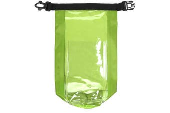 Bullet Tourist Waterproof Bag With Phone Pouch (Lime Green) (One Size)