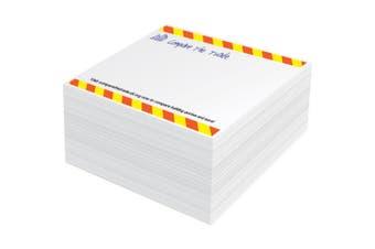 Block-Mate 1C Memo Block (White) (S)