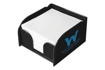 Block-Mate Vessel Memo Block Insert And Paper (Solid Black) (One Size)