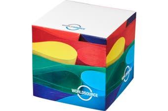 Block-Mate Cube Memo Block (White) (S)