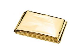 Bullet Frederik 2 Function Emergency Blanket (Gold/Silver) (One Size)
