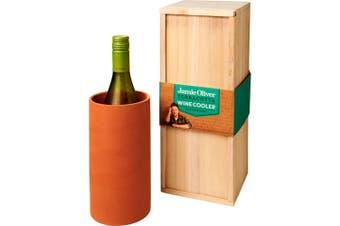 Jamie Oliver Terracotta Wine Cooler (Orange) (One Size)