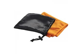 Bullet Peter Cooling Towel in Pouch (Orange) (One Size)