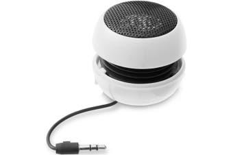 Bullet Ripple Speaker (White) (5.3 x 3.8 x 5.3 cm)