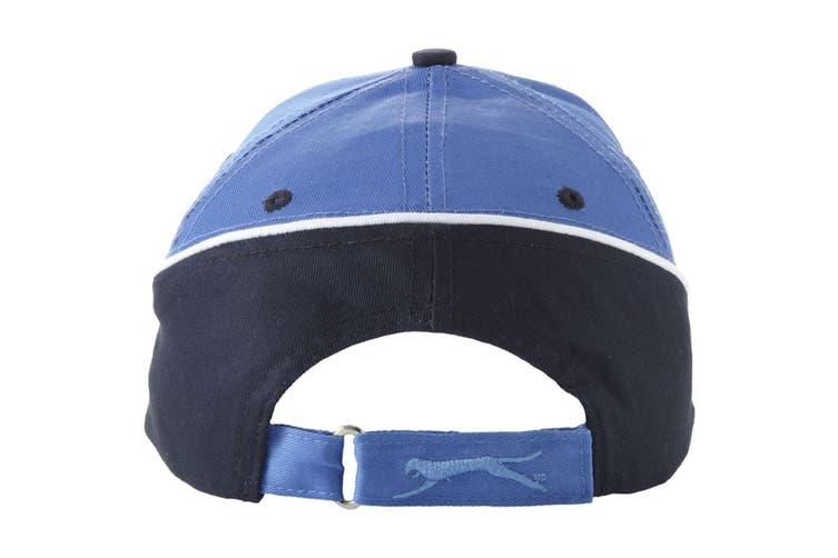 Slazenger Draw 6 Panel Cap (Sky Blue/Navy) (One Size)