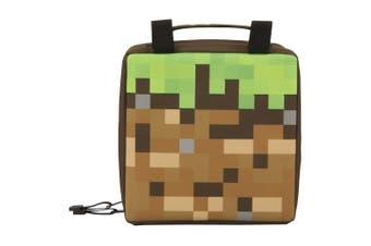 Minecraft Childrens/Kids Dirt Block Lunch Bag (Brown/Green) (One Size)