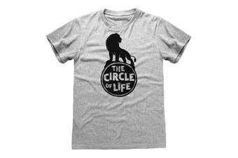 The Lion King Mens 2019 Circle Of Life T-Shirt (Grey) - UTPG203