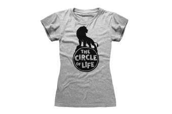 The Lion King Womens/Ladies 2019 Circle Of Life T-Shirt (Grey) - UTPG205