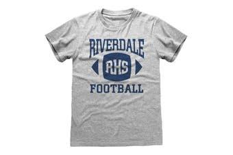 Riverdale Unisex Adults Bulldogs RHS Football T-Shirt (Grey) (L)
