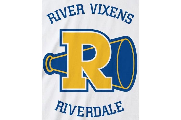 Riverdale Mens River Vixens T-Shirt (White) (XL)