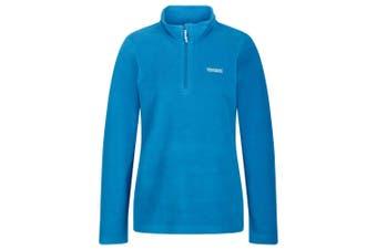 Regatta Great Outdoors Womens/Ladies Sweetheart 1/4 Zip Fleece Top (Petrol Blue/Petrol Blue)