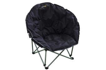 Regatta Great Outdoors Castillo Folding Camping Chair (Black) (One Size)
