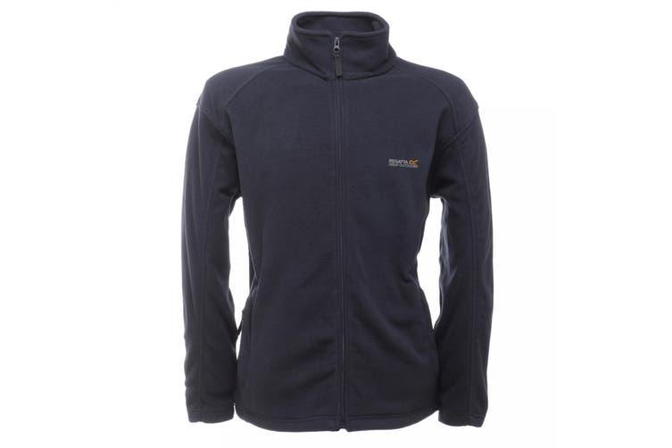 Regatta Great Outdoors Mens Hedman II Two Tone Full Zip Fleece Jacket (Navy/Navy) (M)