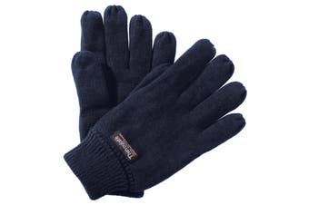 Regatta Unisex Thinsulate Thermal Winter Gloves (Navy) (One size)