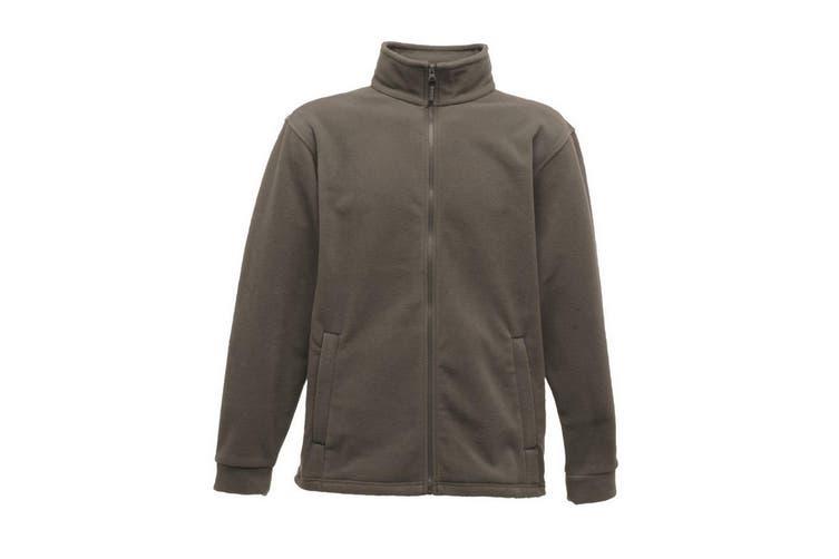 Regatta Mens Thor 350 Full Zip Fleece Jacket (Seal Grey) (XL)