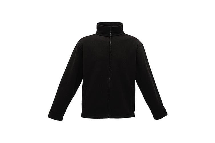 Regatta Mens Thor 350 Full Zip Fleece Jacket (Black) (XXXL)