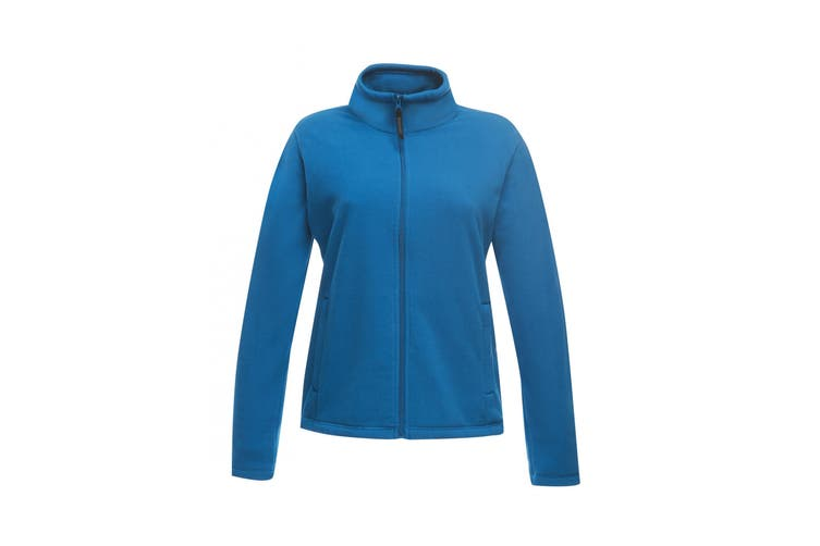 Regatta Womens/Ladies Full-Zip 210 Series Microfleece Jacket (Oxford Blue) (14)