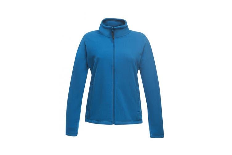 Regatta Womens/Ladies Full-Zip 210 Series Microfleece Jacket (Oxford Blue) (18)