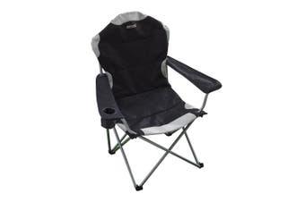 Regatta Great Outdoors Kruza Camping Chair (Black/Seal Grey) (One Size)