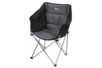Regatta Great Outdoors Navas Camping Chair (Black/Seal Grey) (One Size)